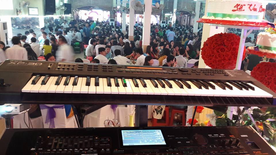 dạy đàn organ đán cưới tại Bình Dương